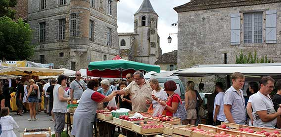 Marché Issigeac Sirguet